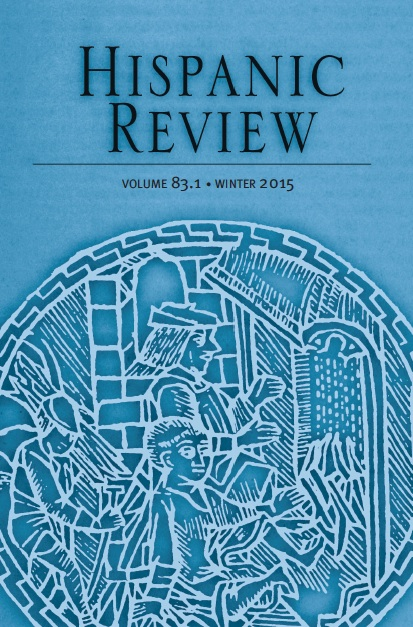Hispanic Review Winter 2021 Volume 89.1